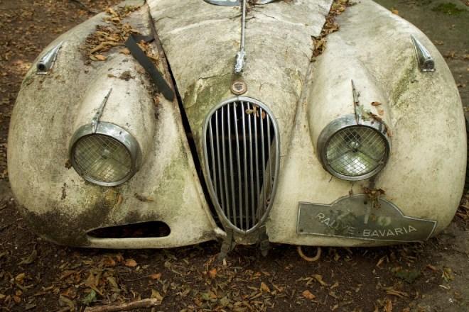 Jaguar XK120 1950 года