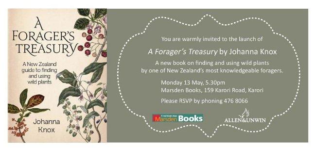 A Foragers Treasury by Johanna Knox