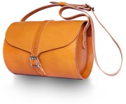 Tan Curve Bag