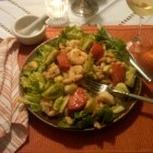 Friday night Shrimp Salad 9-23-11