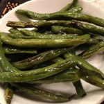 Delicious Oven Roasted Green Beans