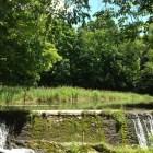 Our neighborhood waterfall.