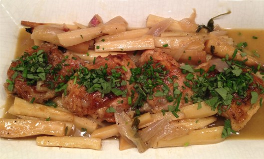 chicken-with-parsnips-on-a-platter
