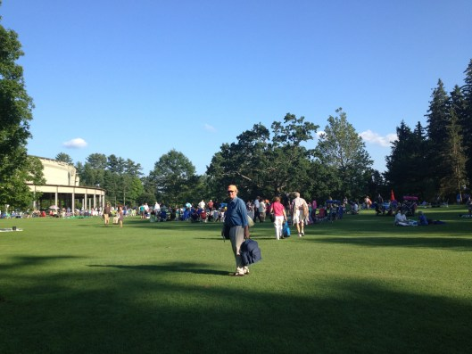 Tanglewood! The start of the season and time for picnic dinners.