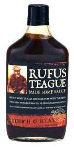 Rufus Teague Touch 'O Heat sauce.