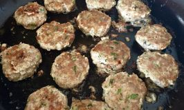 Lemon Zest Pork Sausage Patties for Mother's Day