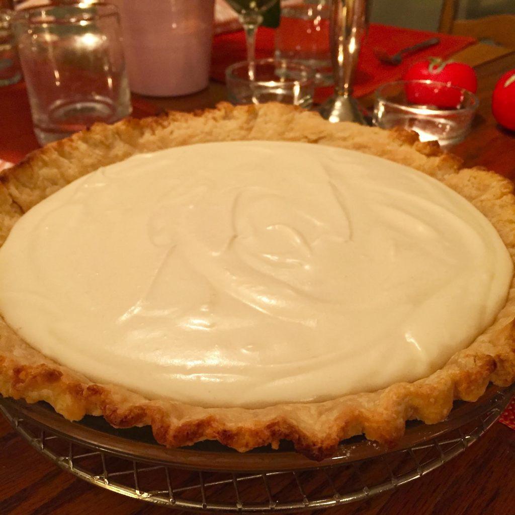 English Provender Luxury Lemon Curd Chiffon pie.