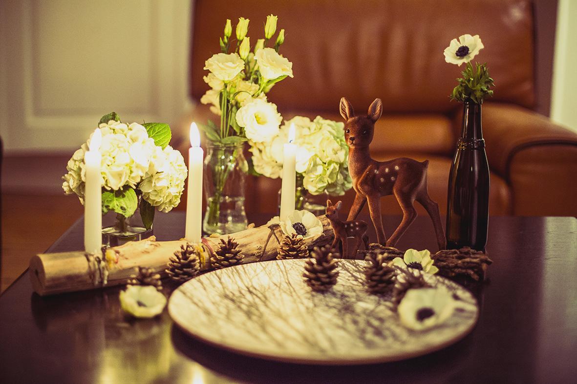 Mon 1er shooting d inspiration une jolie table d automne - Deco table automne ...