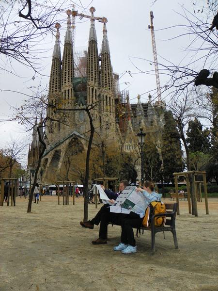 Дневник путешествия по Испании — день 2 — Барселона