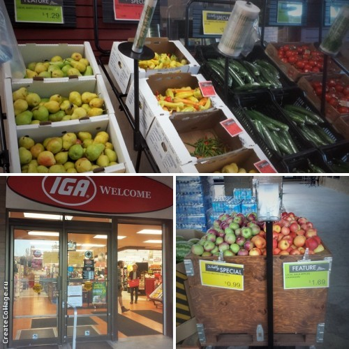 Okanagan. Local fruits