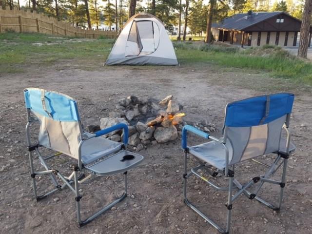 American camping