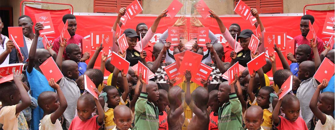 Uganda orphans deeply pleased as iTel Mobile visits Love Uganda Foundation Orphanage Home