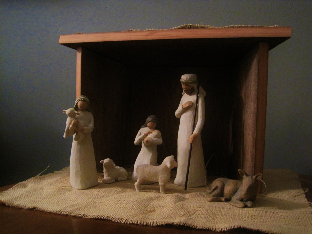 DIwYatt: Building a Nativity Set Stable
