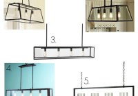 glass rectangular chandelier round up
