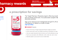 target pharmacy rewards screenshot