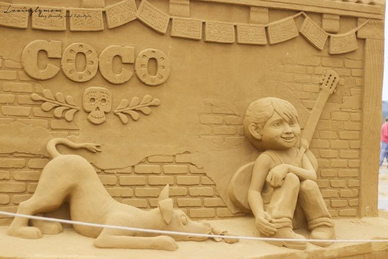 Disney sur sable à Ostende – Une balade magique