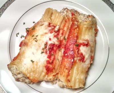 Dad's Manicotti Recipe