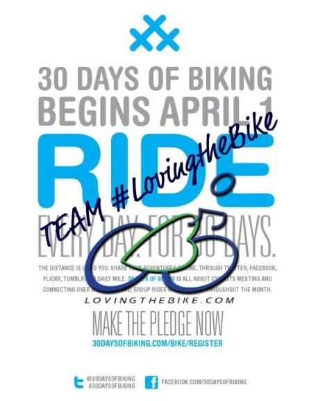 #30daysofbiking #LovingtheBike