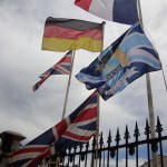 As always, our flags were flying proudly