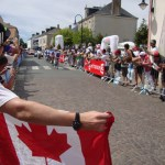 We flew the flag for Ryder Hesjedal too
