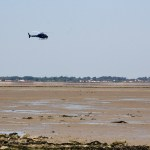 Low flying helicopters building suspense
