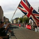 My superb flag waving helped Millar and Garmin-Cervelo take the stage 2 team time trial