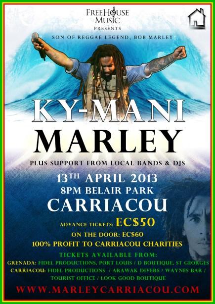 Ky-Mani Marley Carriacou