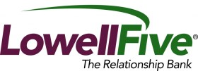 Lowell Five Revised Logo