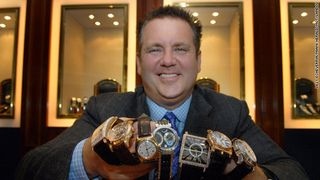 Rothstein In 2007, Posing With Stolen Watches