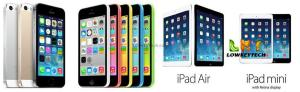 Apple-mobile-devices