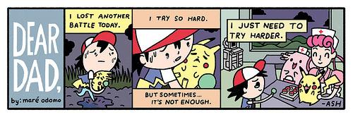 Dear Dad By Mare Odomo Ash Ketchums Pokemon Letters To His Sad Ado