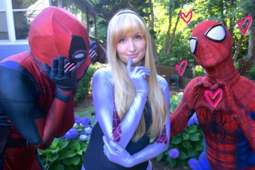 SpiderMan X SpiderGwen X Deadpool Skit_00000