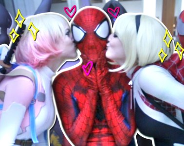 SpiderMan SpiderVerse ROAST Real Life Super Hero Comic Con Adventure_00000