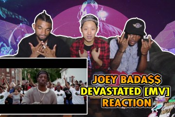 Devastated Joey Badass Reaction