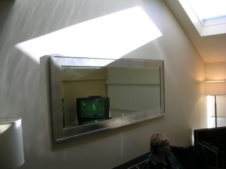 W Sydney loft room skylight