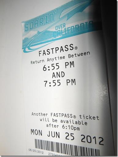 Disney Fast Pass 167