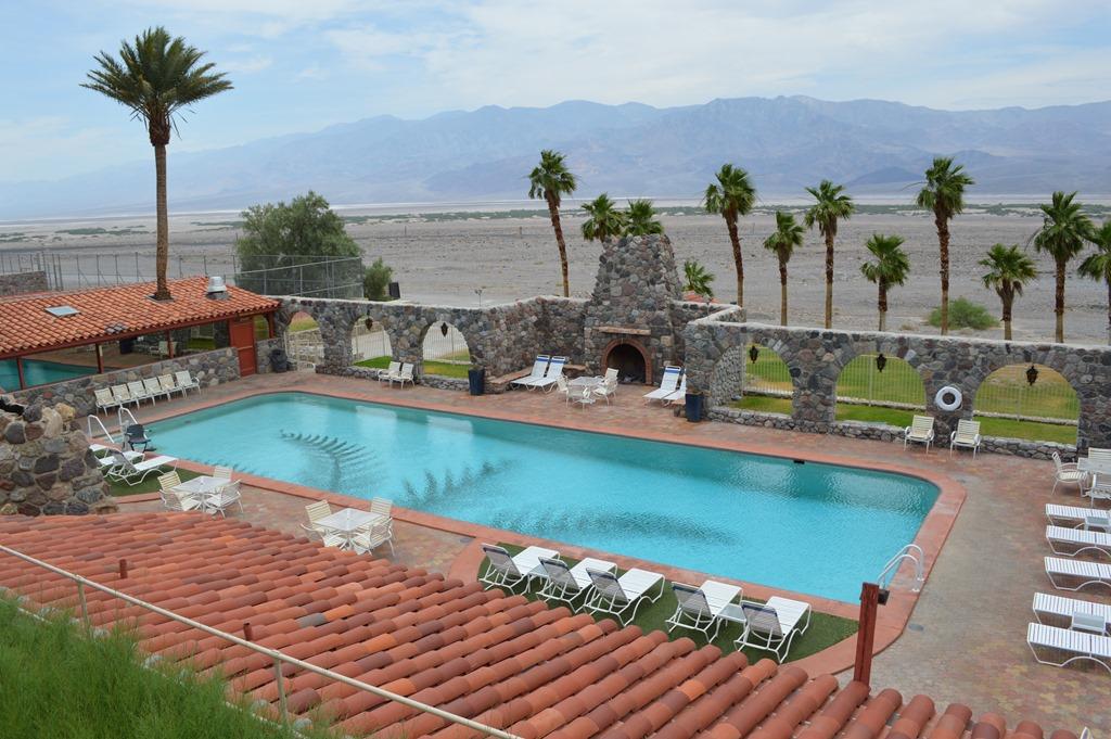 Deserted Desert Hotel At Furnace Creek Inn Death Valley