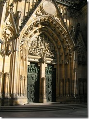 45 Hradcany Cathedral Door