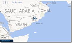 Hilton Oman map