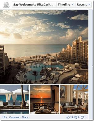 Ritz Aruba Facebook