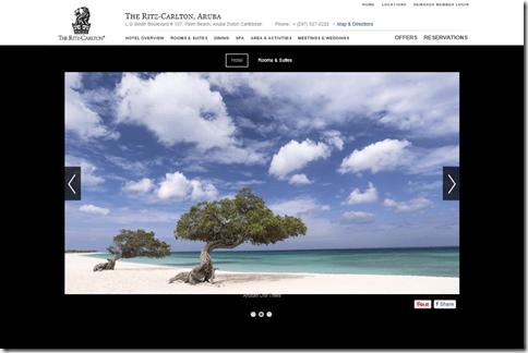 RitzCarlton Aruba