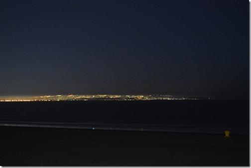 Tijuana Mexico at night