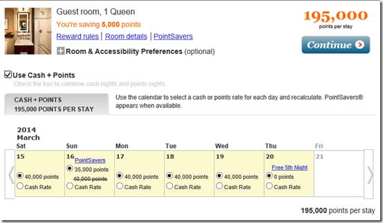 Algonquin NY rate calendar