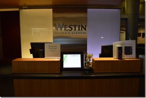 Westin DTW front desk