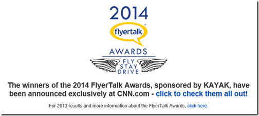 FlyerTalk Awards