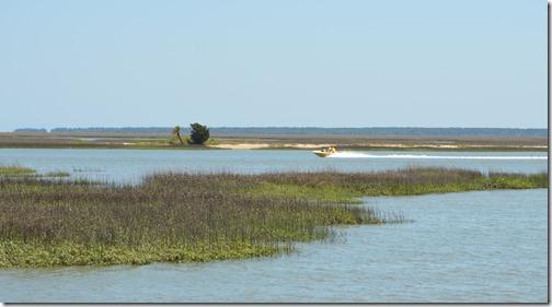 Cape Romain speed boat