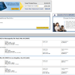 Los Angeles - Minneapolis $146 round trip United Airlines