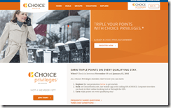 Choice Privileges Triple Points