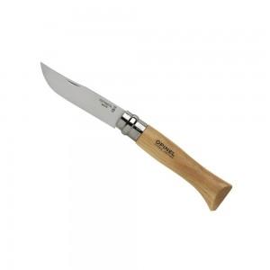 952_08 lp affutages couteau OPINEL n° 8 VRI lame inox manche 11 cm hêtre virole tournante