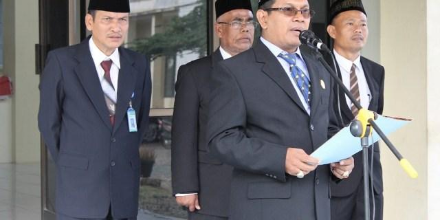 Kepala LPMP Aceh Memberikan Pengarahan pada Peringatan Kemerdekaan Indonesia
